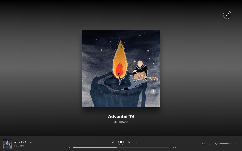 ilustratorkatka | Adventní USB band